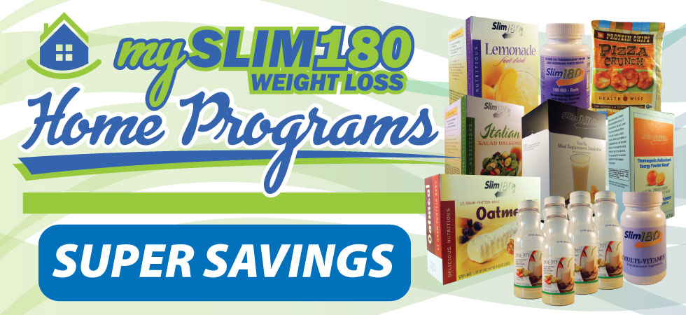MySlim180 Home Weight Loss Programs