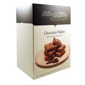 Slim180 Chocolate Wafers