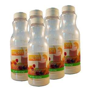 Slim180 Lemon Raspberry Smoothie Drink Mix 6 Pack