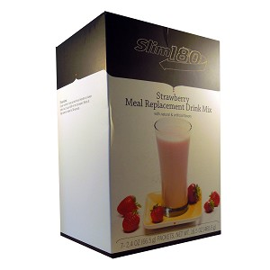 Slim180 VHP Strawberry Meal Replacement Drink Mix